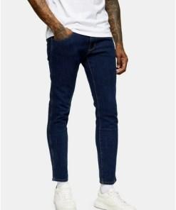 BLAUWrangler Skinny Jeans in mittlerer Waschung, BLAU