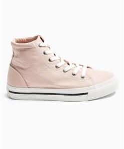 Chase Hi Top' Turnschuhe aus Canvas, pink, PINK