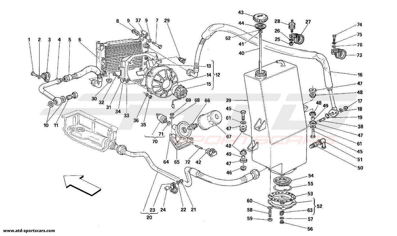 Ferrari 348 Engine Parts At Atd Sportscars