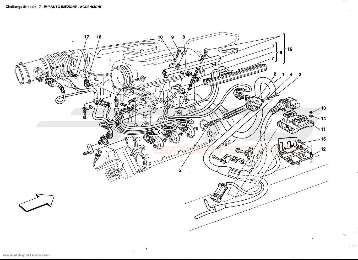 Ferrari 360 Challenge stradale Electrical parts at ATD