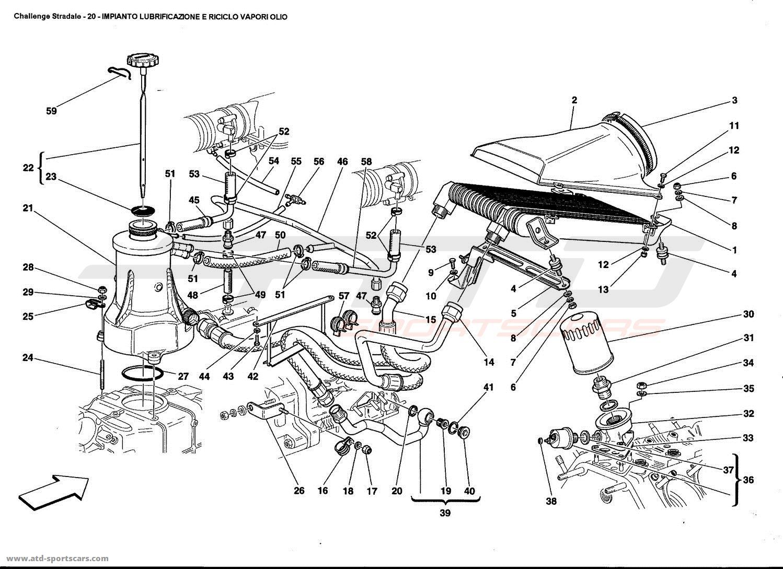 Ferrari 360 Challenge stradale Engine parts at ATD