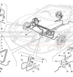 ferrari 360 spider brake system [ 1500 x 946 Pixel ]