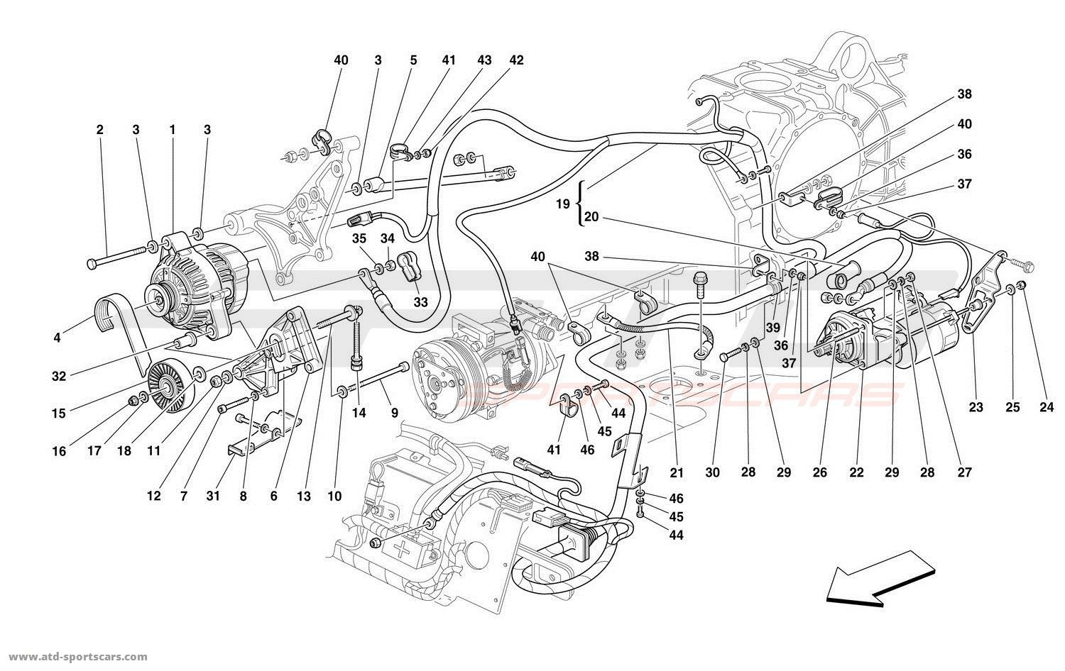 Ferrari 360 Spider Electrical Diagram • Wiring Diagram For