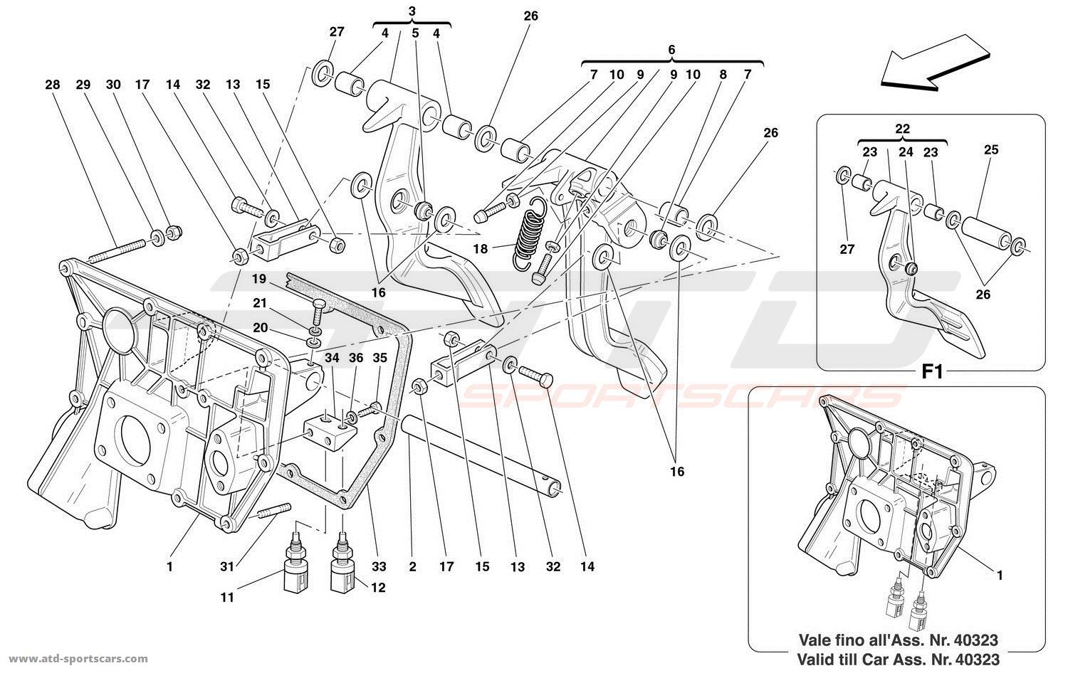 Ferrari 360 Spider Interior Parts At Atd Sportscars