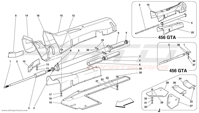 Ferrari 456 Gt Gta Gearbox