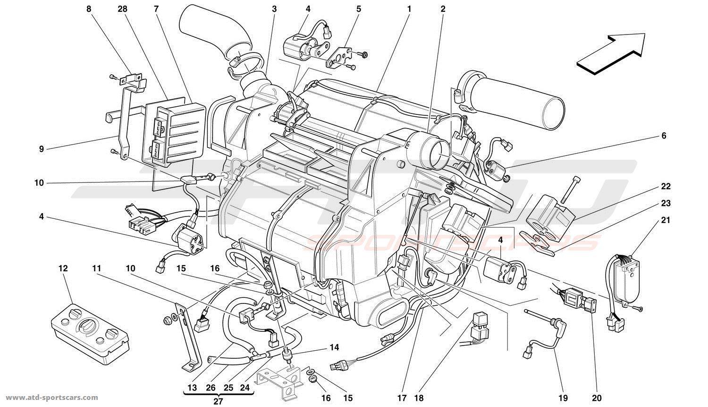 Ferrari 456 GT / GTA Interior parts at ATD-Sportscars