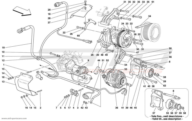 Ferrari 456 M Gt Gta Alternator