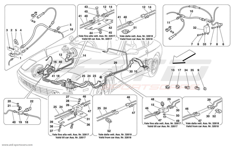 Ferrari 456 M GT / GTA Brakes parts at ATD-Sportscars