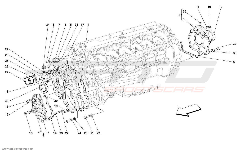 Ferrari 456 M GT / GTA Engine parts at ATD-Sportscars