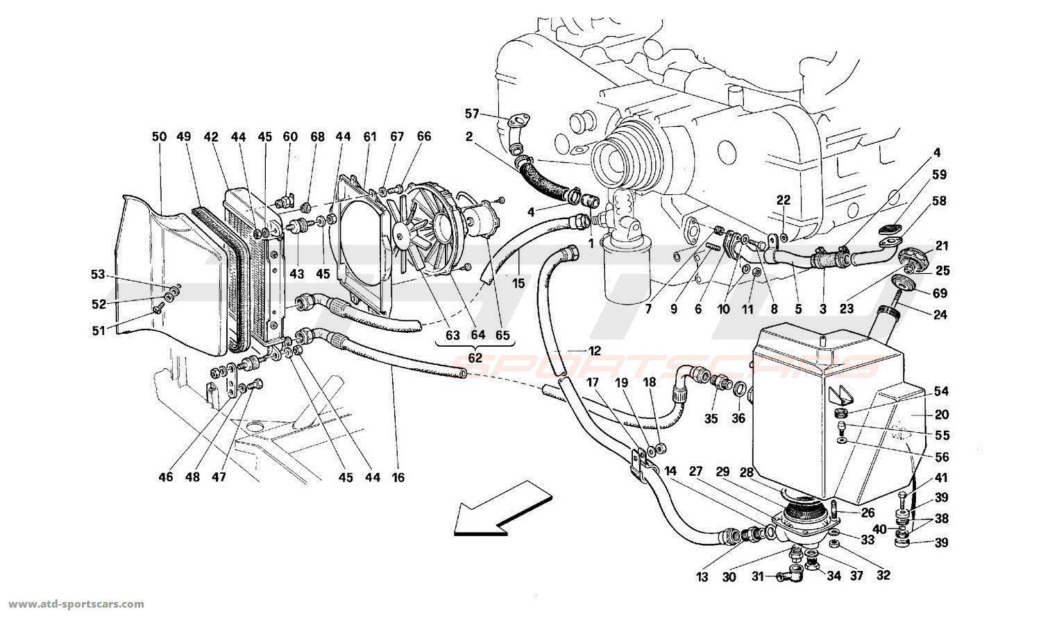 Ferrari 512 Tr Engine Parts At Atd Sportscars