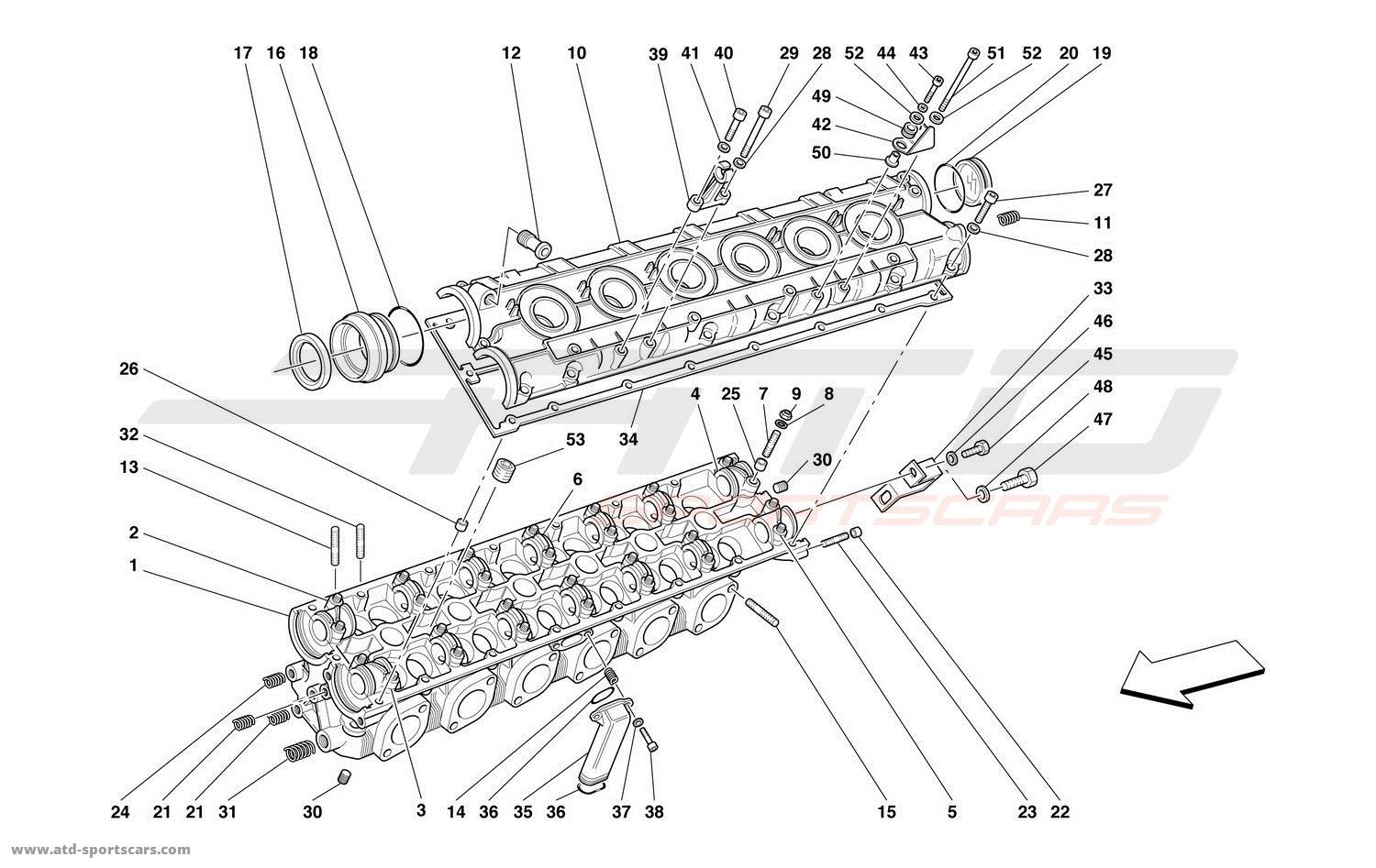 Ferrari 550 Barchetta Engine Parts At Atd Sportscars