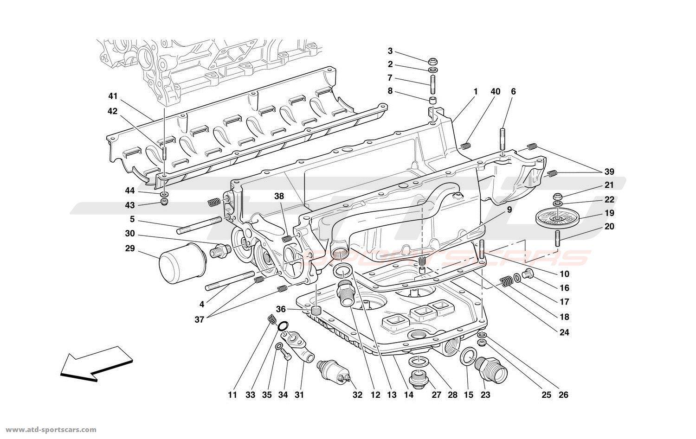 Ferrari 550 Barchetta Engine Parts At Atd Sportscars