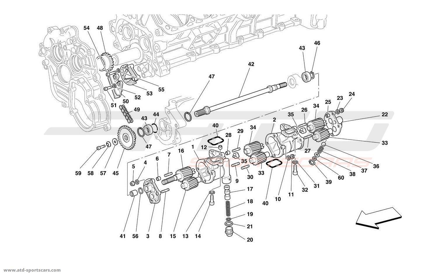 Ferrari 550 Maranello Engine Parts At Atd Sportscars
