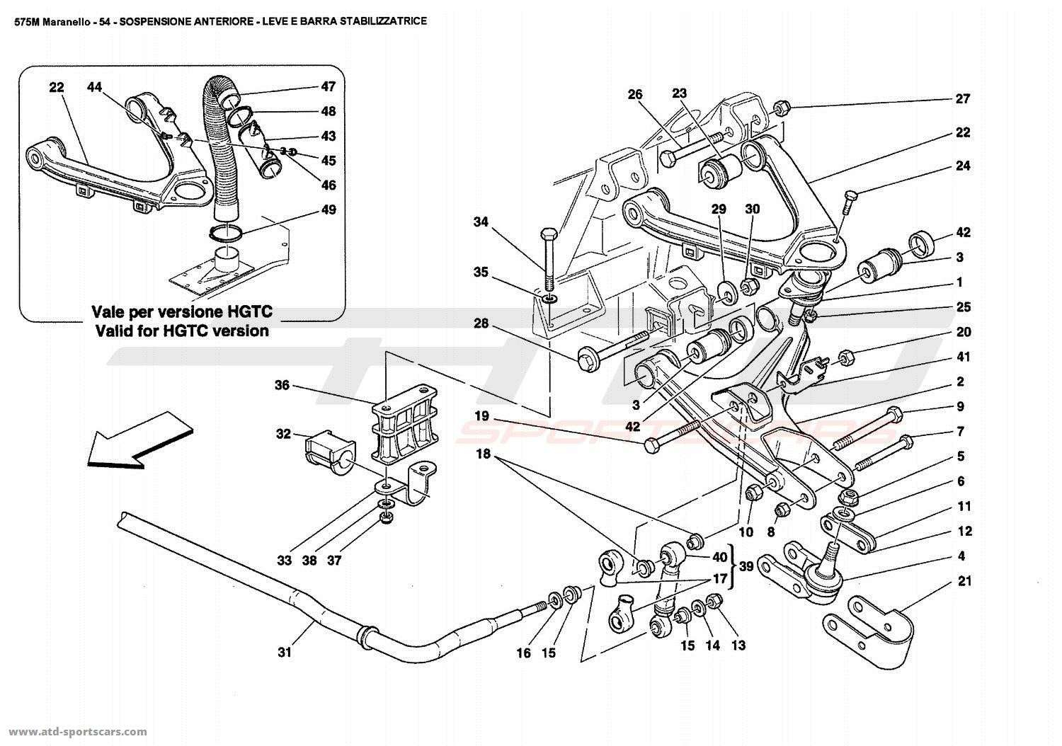 Corvette Parts Diagram