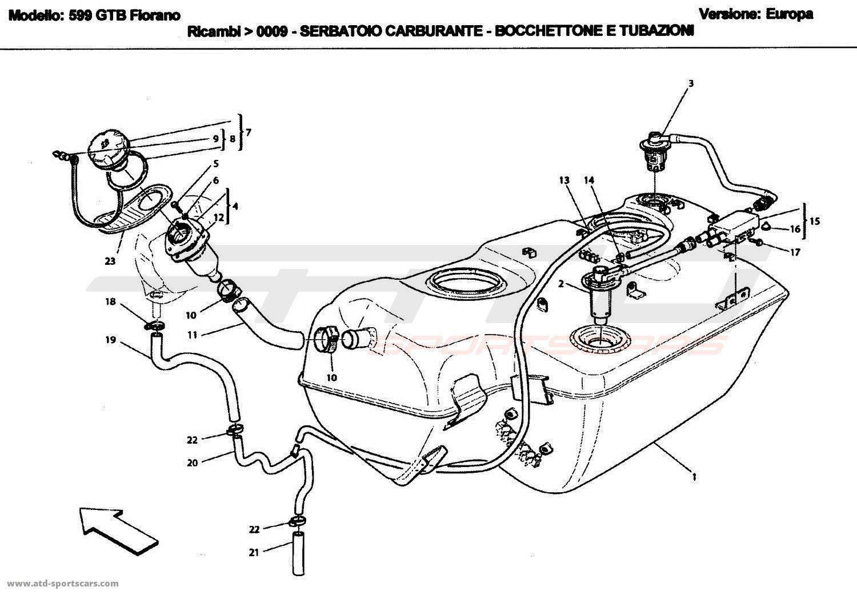 Ferrari 599 Gtbs Air Intake