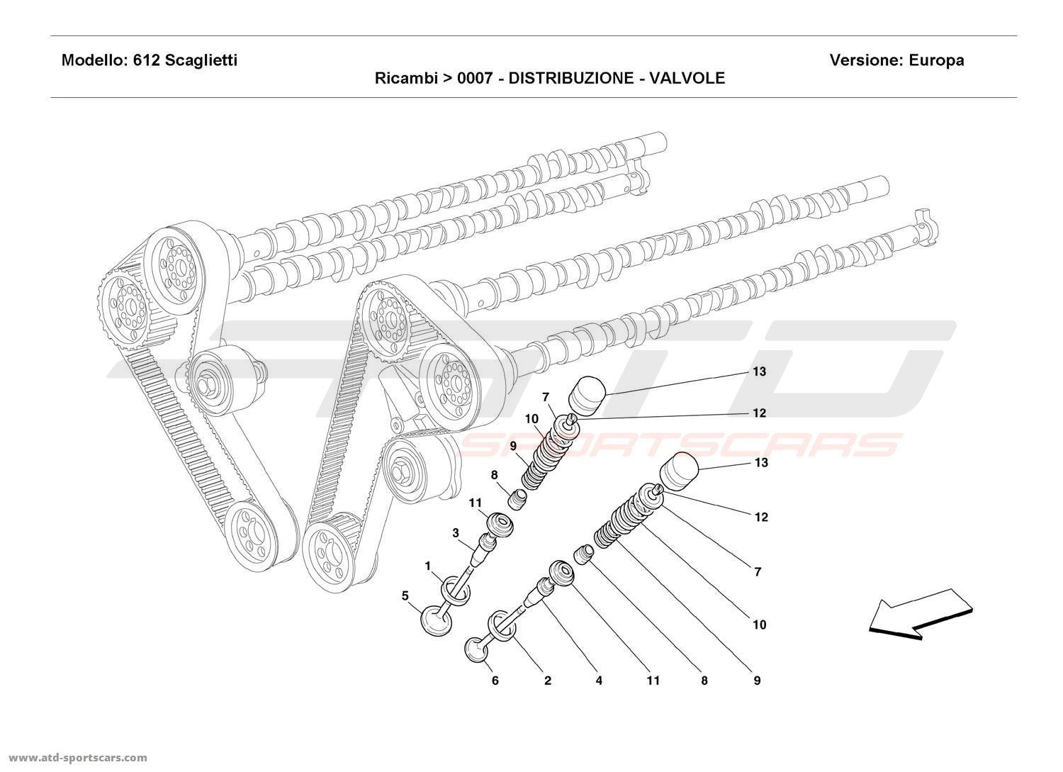 Ferrari 612 Scaglietti Engine Parts At Atd Sportscars