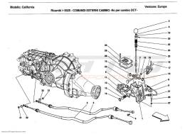 Ferrari California 2011 parts from the parts catalog by
