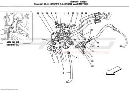 Ferrari California parts from the parts catalog by ATD