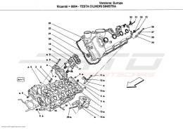 Ferrari California Ersatzteile aus dem Katalog bei ATD