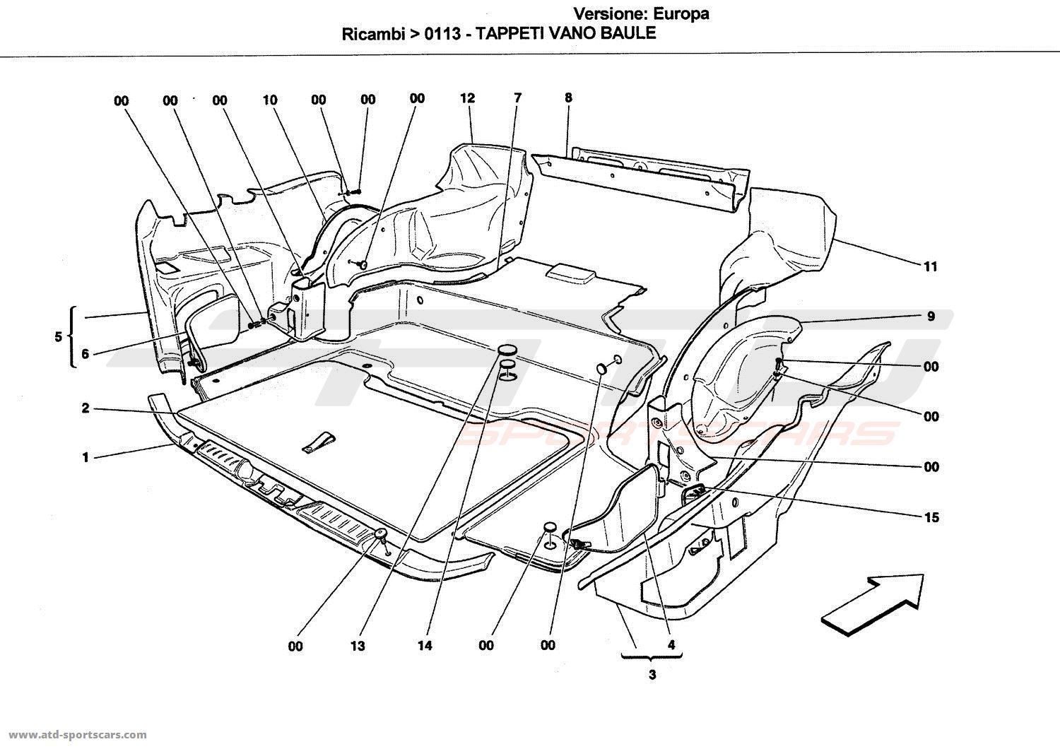 Service manual [2009 Hyundai Entourage Rear Door Interior