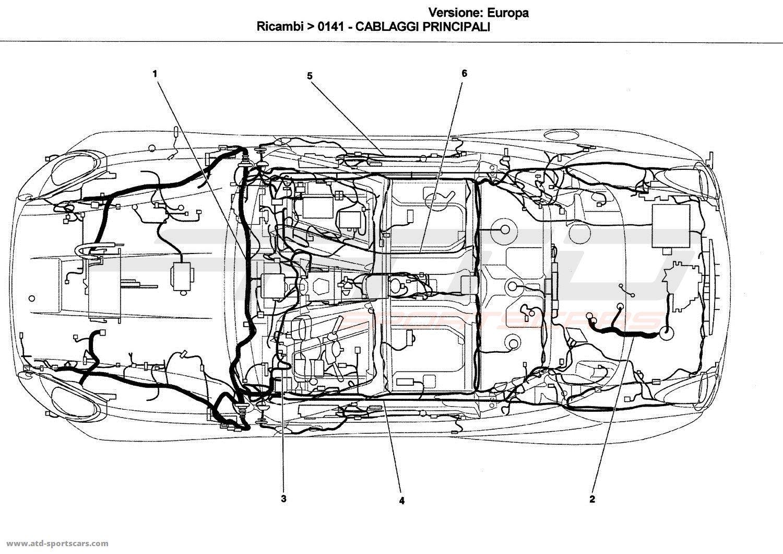 Ferrari California Electrical parts at ATD-Sportscars