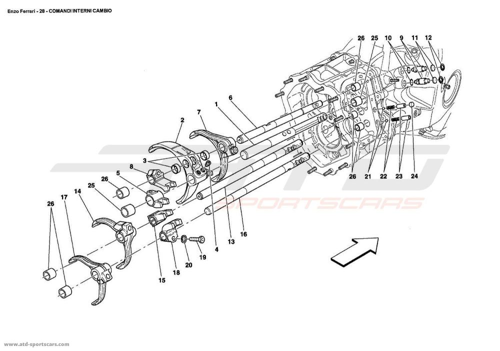 medium resolution of ferrari enzo inside gearbox controls buick reatta fuse box diagram buick enclave fuse