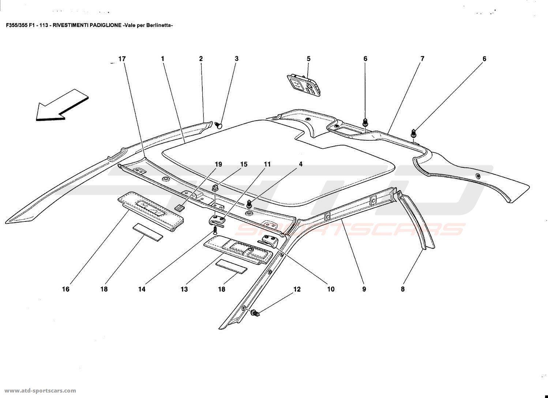Ferrari 355 Fuse Box Ferrari Modena Wiring Diagram