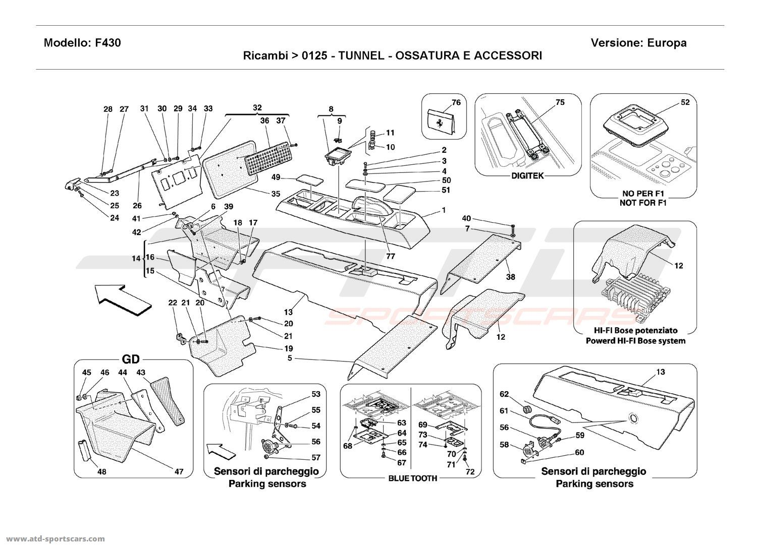 Ferrari 308 Wiring Diagram