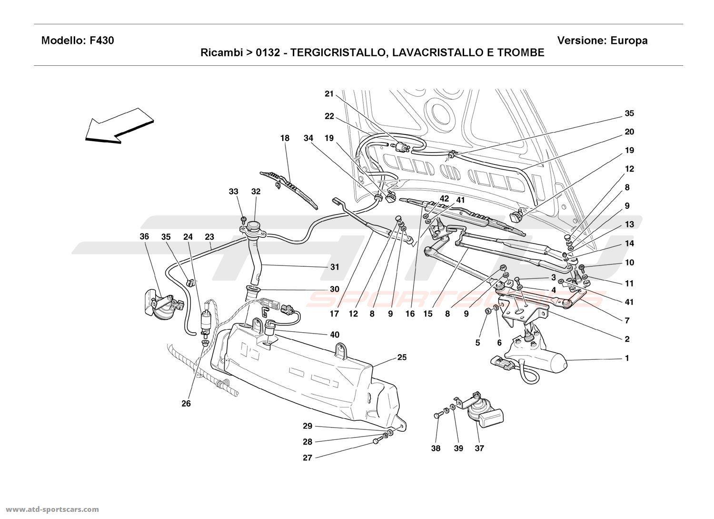 Service manual [2006 Ferrari F430 Spider Windshield Washer