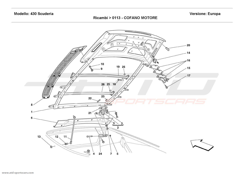 Ferrari F430 Scuderia Body Parts At Atd Sportscars