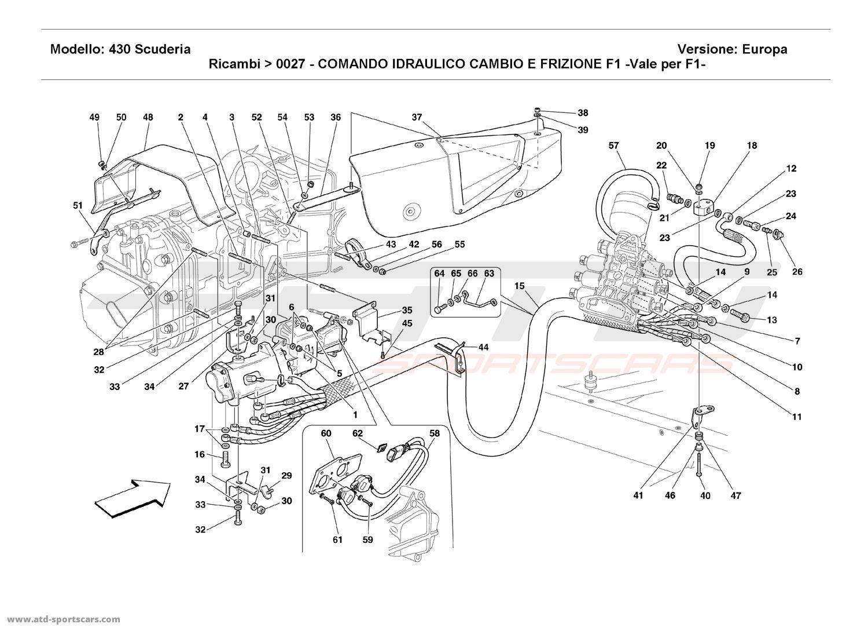 Ferrari F430 Scuderia Gearbox