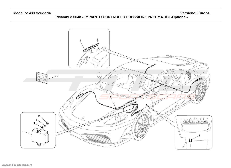 Ferrari F430 Scuderia Electrical Parts At Atd Sportscars