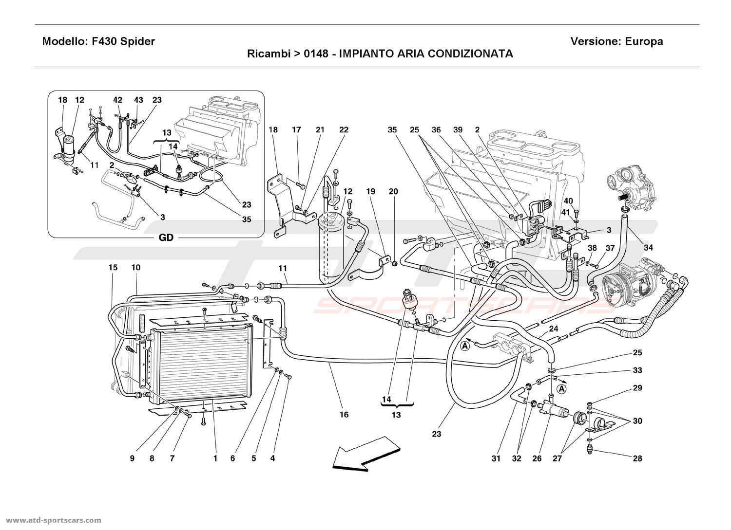 porsche 996 parts diagram hvac