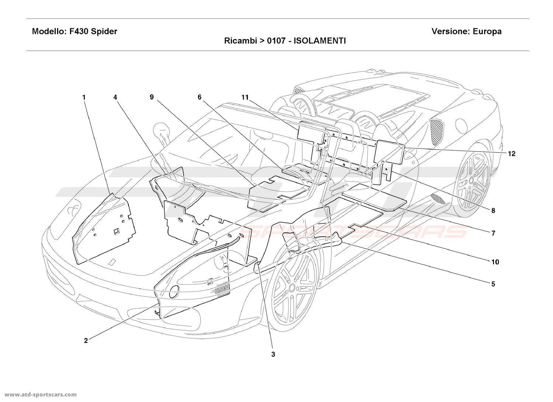 2014 Maserati Ghibli Fuse Panel. Maserati. Auto Fuse Box