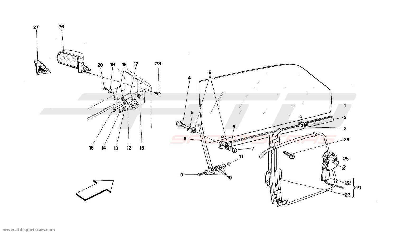 ferrari mondial 4 door wiring diagram database