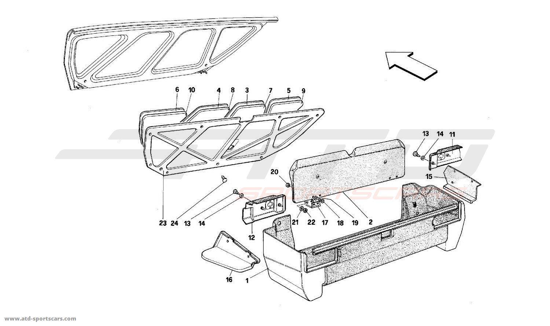 1987 Ferrari Mondial Wiring Diagram. Ferrari. Auto Wiring