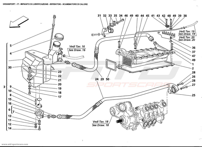 Maserati Gransport Engine Parts At Atd Sportscars