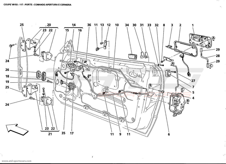 Maserati 4200 GT Coupé 2003 Body parts at ATD-Sportscars