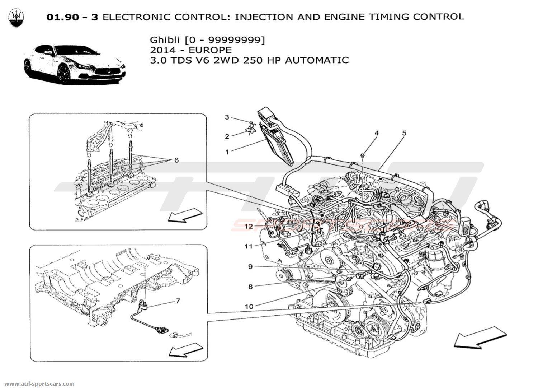 Maserati Ghibli V6 3 0lsel Auto Electronic