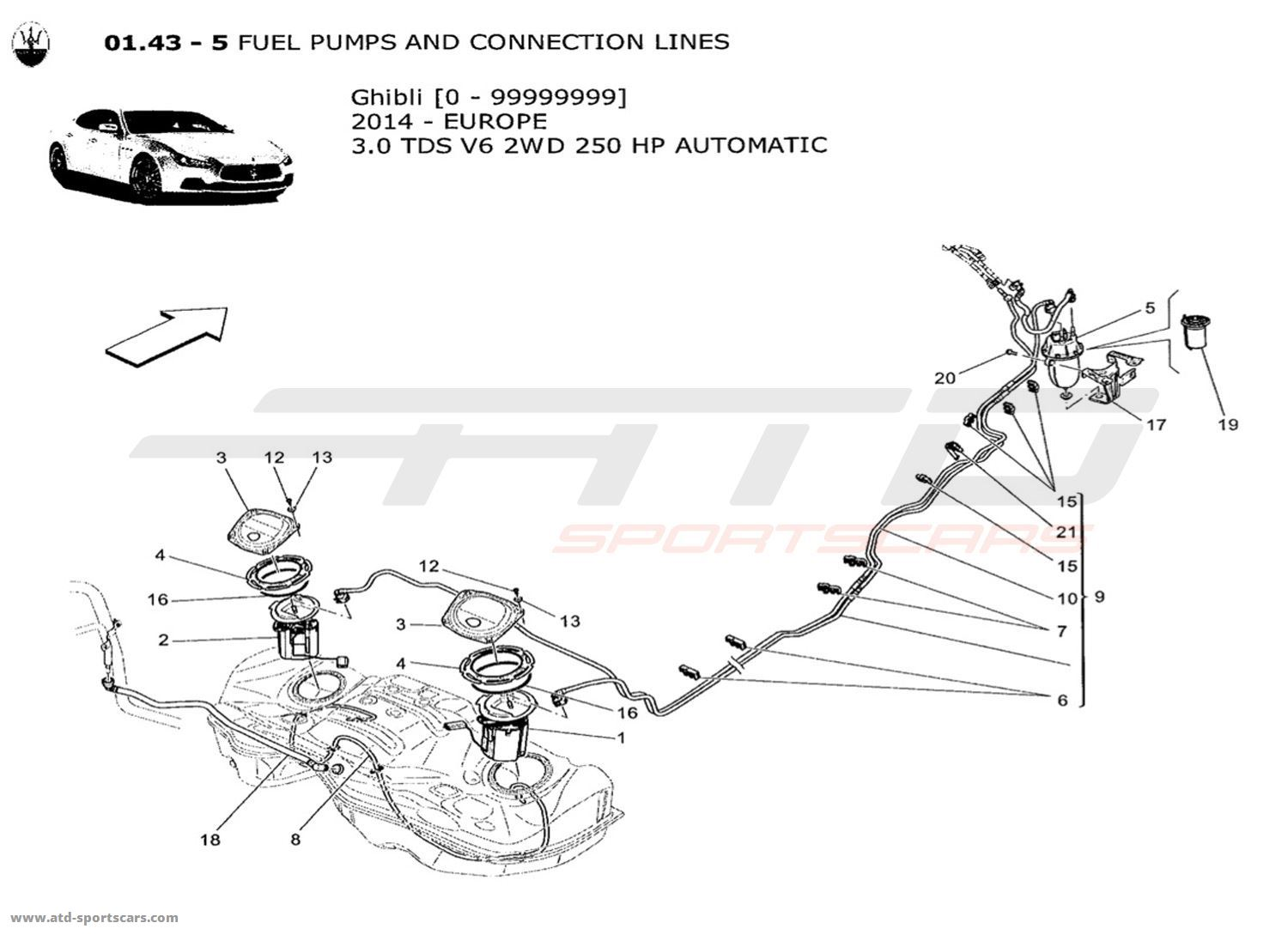 6 0 Fuel Line Diagram