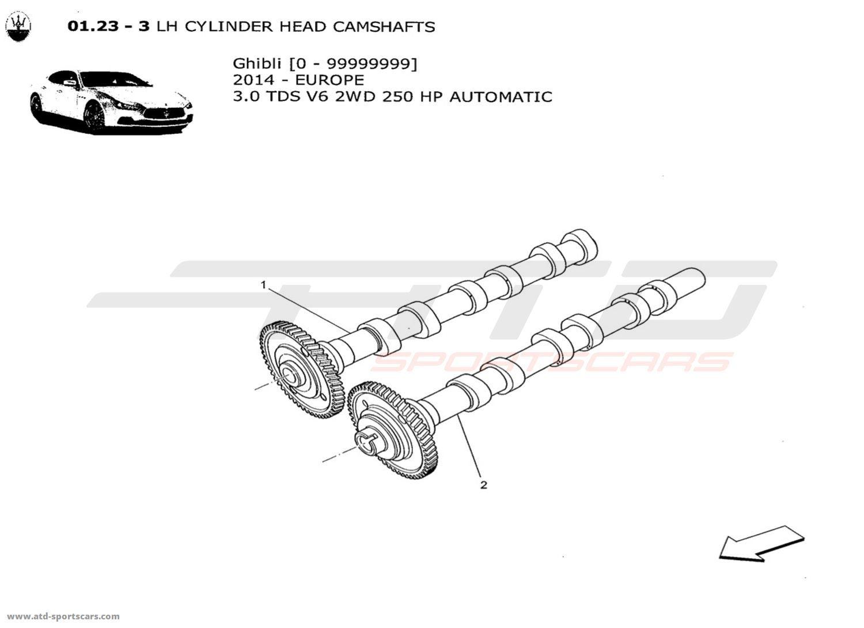 Maserati Ghibli V6 3 0lsel Auto Engine Parts At