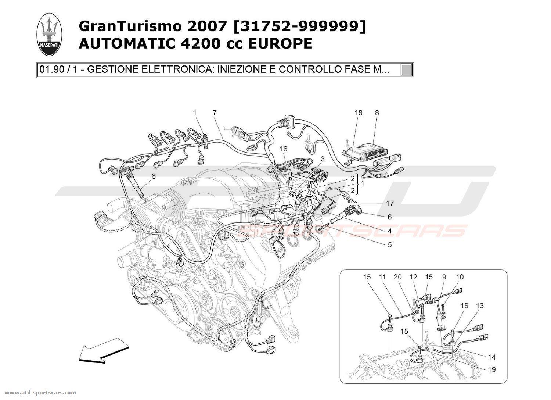 Maserati Granturismo 4 2l Boite Auto Engine Parts At Atd Sportscars