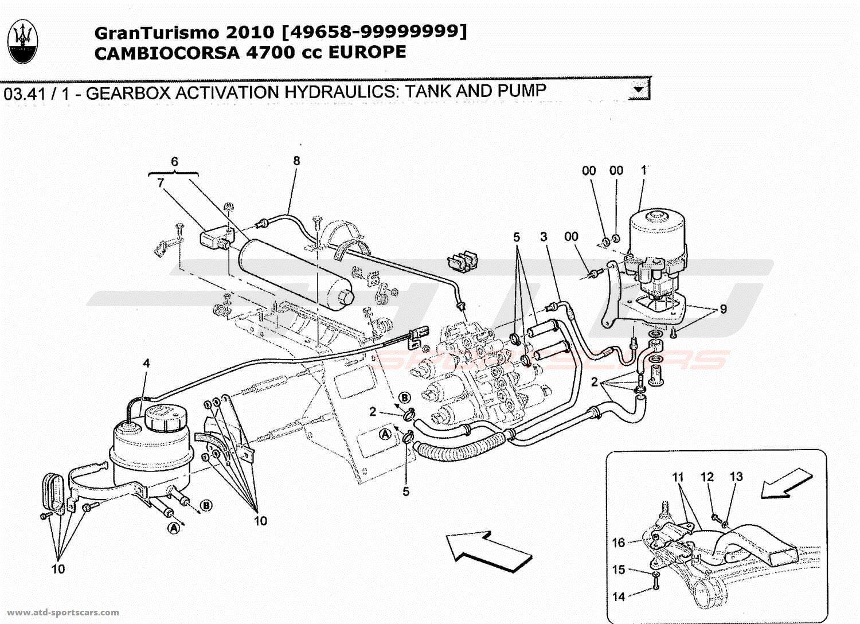 Maserati GranTurismo 4,7L Boite F1 2010 GEARBOX ACTIVATION