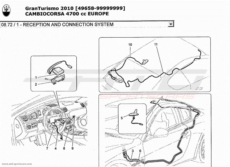 Maserati GranTurismo 4,7L Boite F1 2010 RECEPTION AND