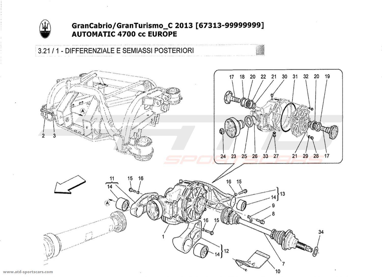 Maserati GranTurismo Grancabrio 4,7l AUTO 2013
