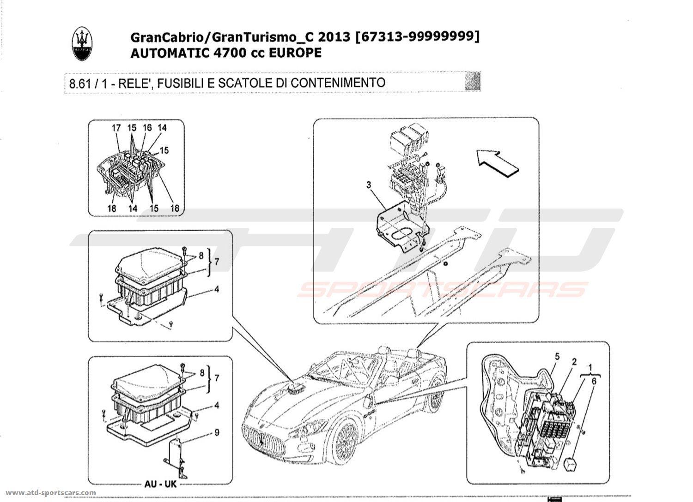 Maserati Granturismo Grancabrio 4 7l Auto Relays