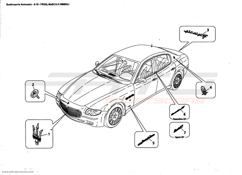 Maserati Quattroporte 4,2L Boite Auto 2006 MARKS AND