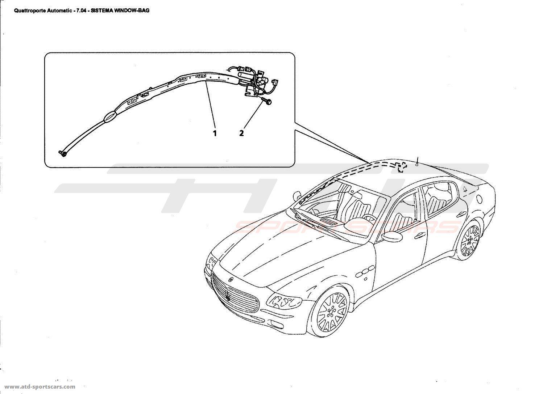 Maserati Quattroporte 4,2L Boite Auto 2006 Electrical