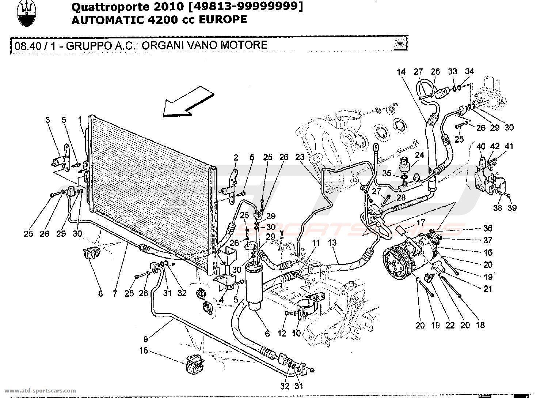 Maserati Quattroporte 4 2l Boite Auto A C Unit