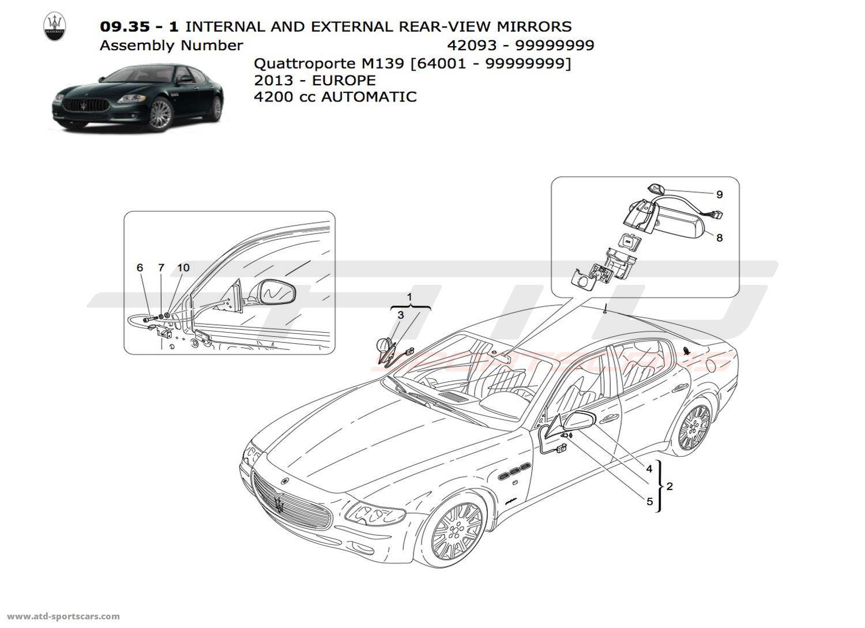 Maserati Quattroporte 4.2L Boite auto 2013 Glasses